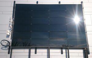 Fassadenprototyp im Test am ISFH